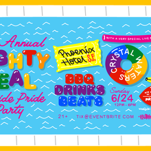 Mighty Real PRIDE Poolside Party w/ Crystal Waters LIVE