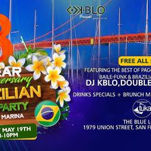 BRAZILIAN DAY PARTY IN THE MARINA -3 YEAR ANNIVERSARY