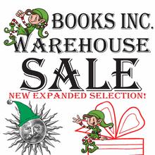 Warehouse Sale Extravaganza at Books Inc. HQ!