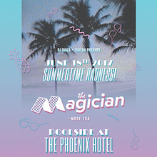 The Magician Pool Party