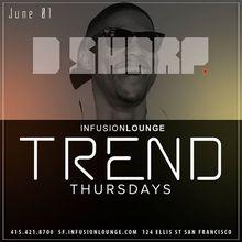 DJ D-Sharp at #TrendThursdays