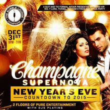 CHAMPAGNE SUPERNOVA New Years Eve at BUBBLE LOUNGE San Francisco