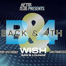 BACK & 4TH Fridays