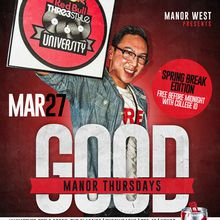 GOOD MANOR THURSDAYS feat. DJ ANDRE CAMAISA