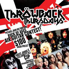 Air Guitar contest, win $100