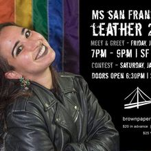 Ms. SF Leather Contest