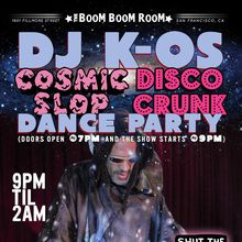 DJ K-OS COSMIC FUNK DISCO