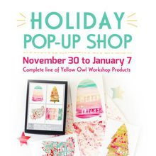 Yellow Owl Workshop Holiday Pop-Up
