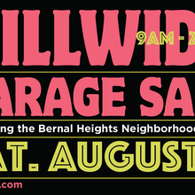 Bernal Heights Hillwide Garage Sale - Over 150 Homes Participating