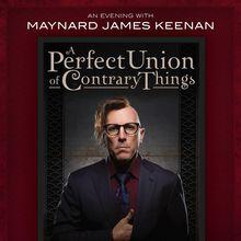 Maynard James Keenan Book Tour