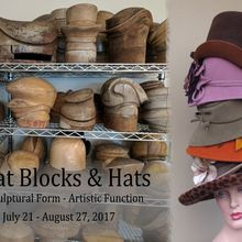 Hat Blocks & Hats - Sculptural Form & Artistic Function