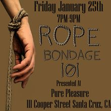 Rope Bondage 101 Presented by Rain DeGrey