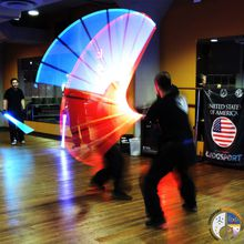 Learn to Wield a Lightsaber! - Ludosport Discovery Class