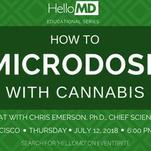 Microdosing with Cannabis