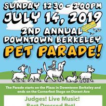 Downtown Berkeley Pet Parade