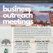City of Oakland Business Outreach Meetings