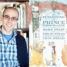 PHILIP STEAD at the Palo Alto Children's Library