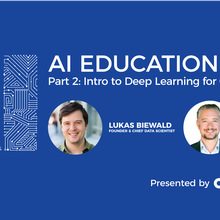 AI Education Series Part 2:  Intro to Deep Learning for Computer Vision