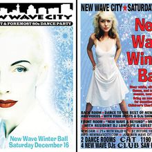 "2 for 1 admission to New Wave City December 18 ""New Wave Winter Ball"""