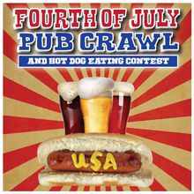 San Francisco Fourth Of July Pub Crawl & Hot Dog Eating Contest