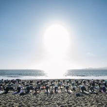 Beach Yoga with Nat Kendall and Live DJ Sol Rising!