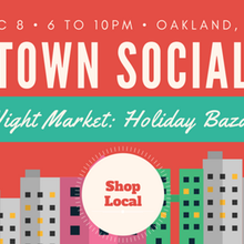 Town Social: Rooftop Night Market - Holiday Bazaar Edition