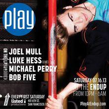 Play: Joel Mull, Luke Hess live