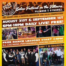 Salsa Festival on the Fillmore