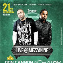 Live From Hollywood Featuring DJ Don Cannon, DJ Orator & DJ Amen