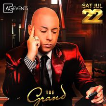 Cosculluela at The Grand Nightclub for Latino Fridays