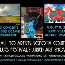 Call to Artists: Sonoma County Blues Festival's Juried Art Show.