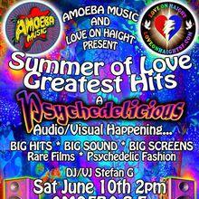 Summer of Love at Amoeba SF!