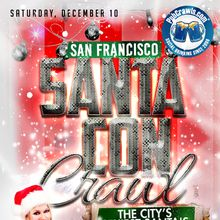 SantaCon Crawl San Francisco 2016