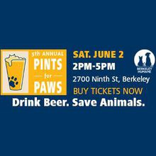 Pints for Paws - Drink Beer, Save Animals.