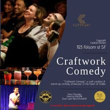 """Craftwork Comedy"" a craft drink and stand-up comedy showcase"