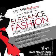 A Night of Elegance & Fashion at Yoshi's San Francisco