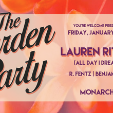 The Garden Party with Lauren Ritter (All Day I Dream)