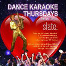 Thursday Dance Karaoke with DJ Purple