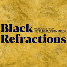 ARTIST TALK | Black Refractions: Highlights from the Studio Museum in Harle
