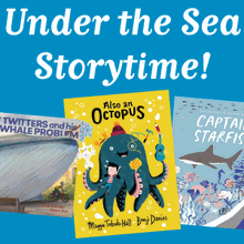 """PJ Storytime Presents """"Under the Sea"""" at Books Inc. Campbell"""