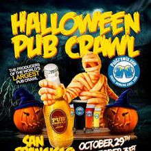 San Francisco Halloween Pub Crawl - SAT 10/29