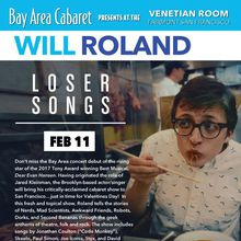 Bay Area Cabaret presents Will Roland