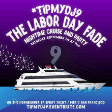 #tipmydj9 The Labor Day Fade ALL WHITE Yacht Party