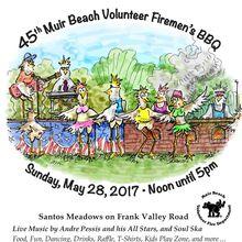 The 45th Annual Muir Beach Volunteer Firemen's Barbecue