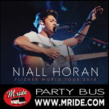 Niall Horan Shoreline Amphitheater Party Bus