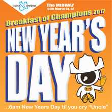 Space Cowboys present Breakfast of Champions 2018