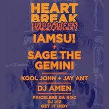 Heart Break Halloween:  IAMSU / Sage the Gemini