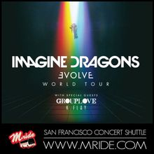 San Francisco Party Bus - Imagine Dragons & Grouplove