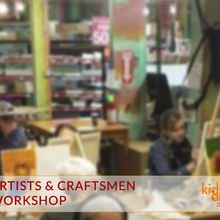 Kids & Art Workshop at Artist & Craftsman Supply