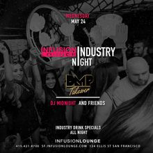 Industry Night Guest List - 5.24.2017